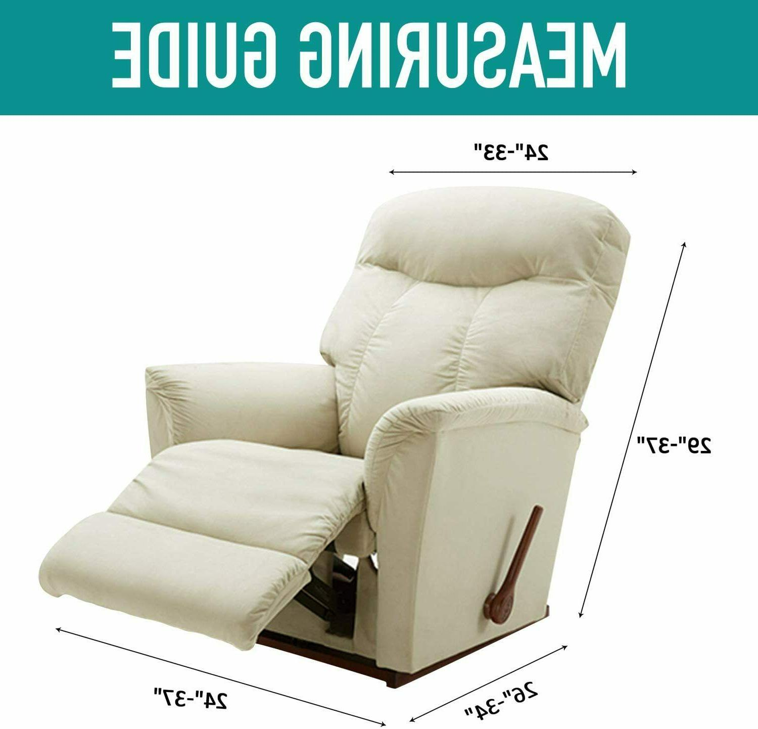 Recliner Stretch Cover Protector Elastic Bottom 4