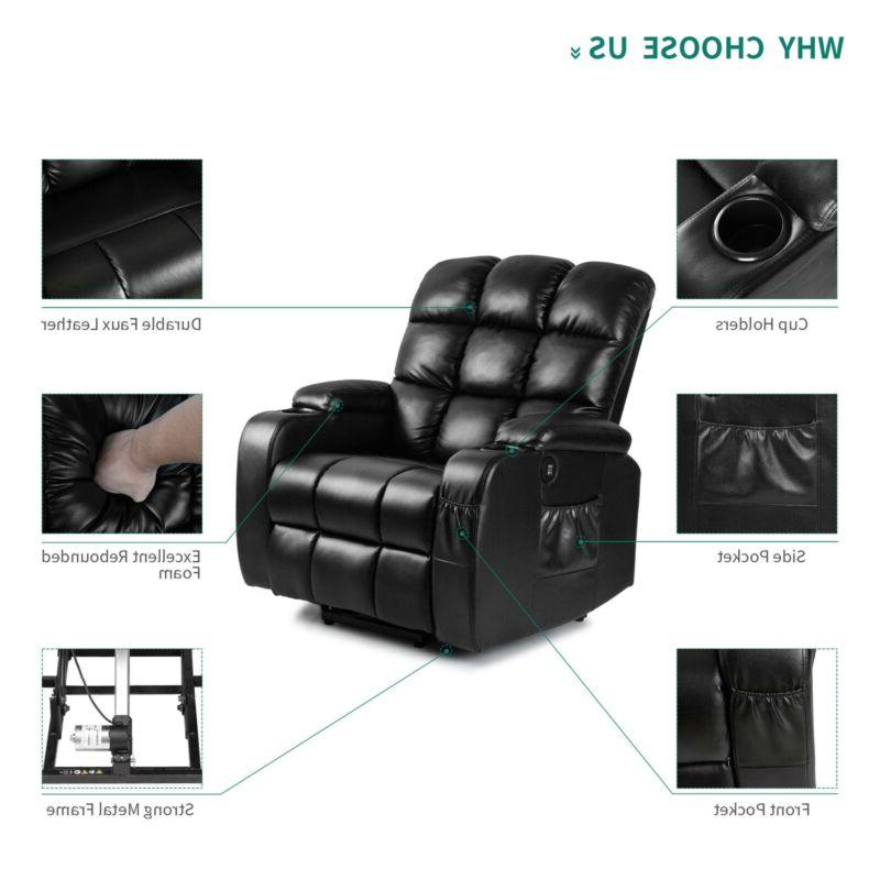 YITAHOME Electric Full Massage Recliner