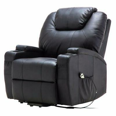 Electric Lift Recliner Heated with Remote Control