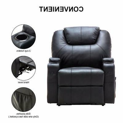 Electric Recliner Heated Massage Control