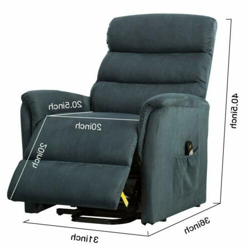 Power Recliner Lift Chair Lounge Sofa Seat
