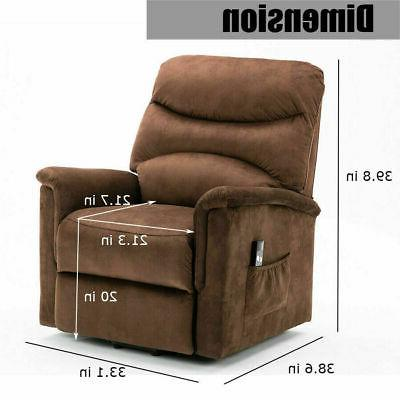 ELECTRIC RECLINER FOR ELDERLY LIVING ROOM SOFA SEATER