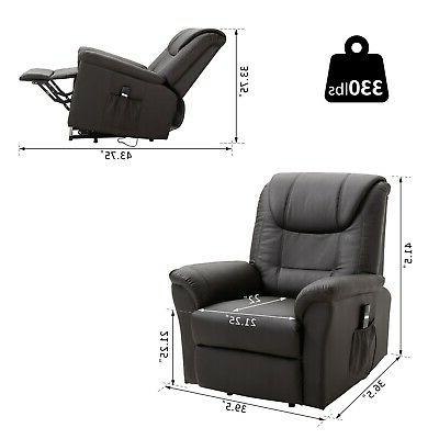 Electric Lift Recliner Chair Stand Control