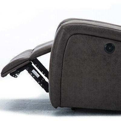 ELECTRIC POWER CHAIR SUEDE ERGONOMIC THICK SOFA
