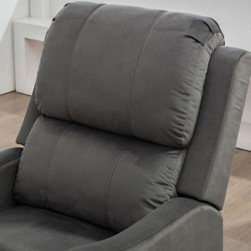 Electric Chair Modern Armchair Padded Overstuffed With USB