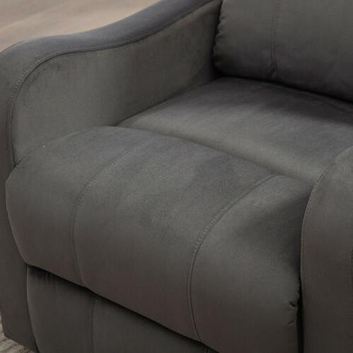 Electric Recliner Sofa Modern Armchair Padded With port