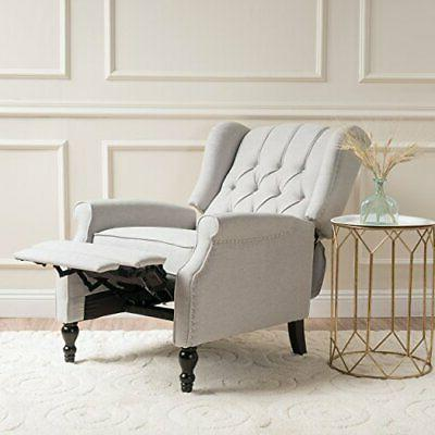 Christopher Knight Home Elizabeth Tufted Fabric Recliner,