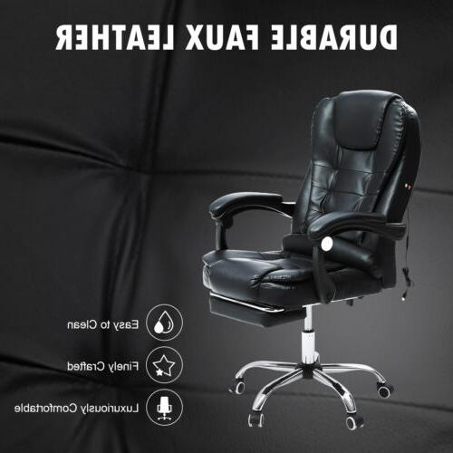 Executive Gaming Massage Reclining Desk
