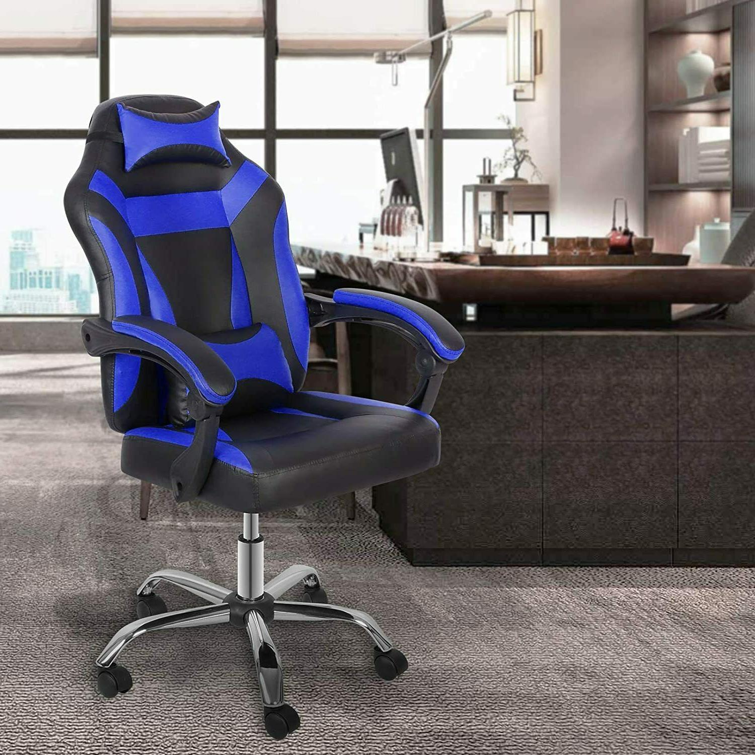 Gaming Reclining Racing Office High Back Desk Chair Computer