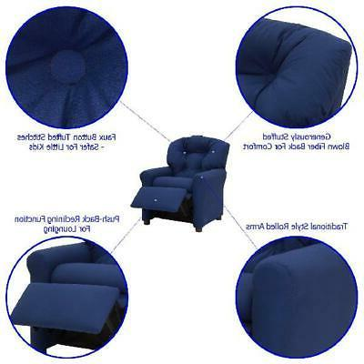 Kids Chair Gaming Seat Armrest Room Lounger Sofa
