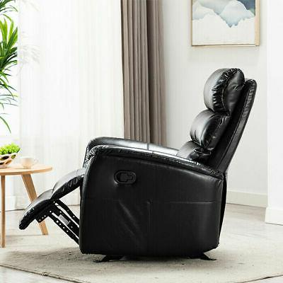 Manual Chair Breathable Leather Padded