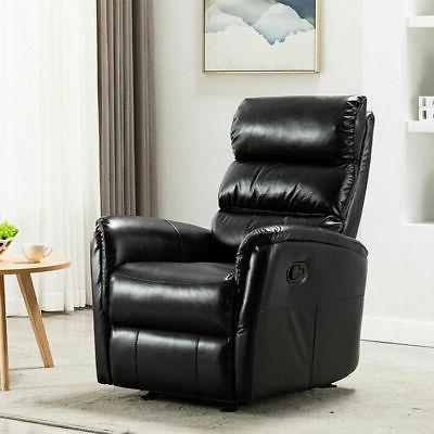 Manual Rocker Chair Breathable Padded