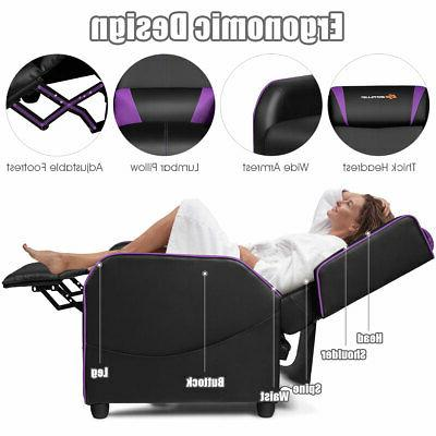 Massage Gaming Recliner Single Living Home