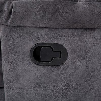 Microfiber Suede Padded Back Wall