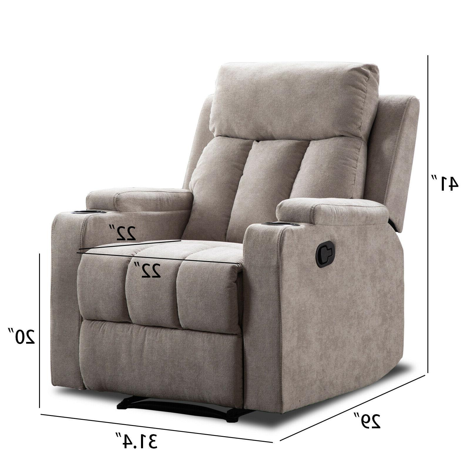 Sofa Seating w/2 Cup