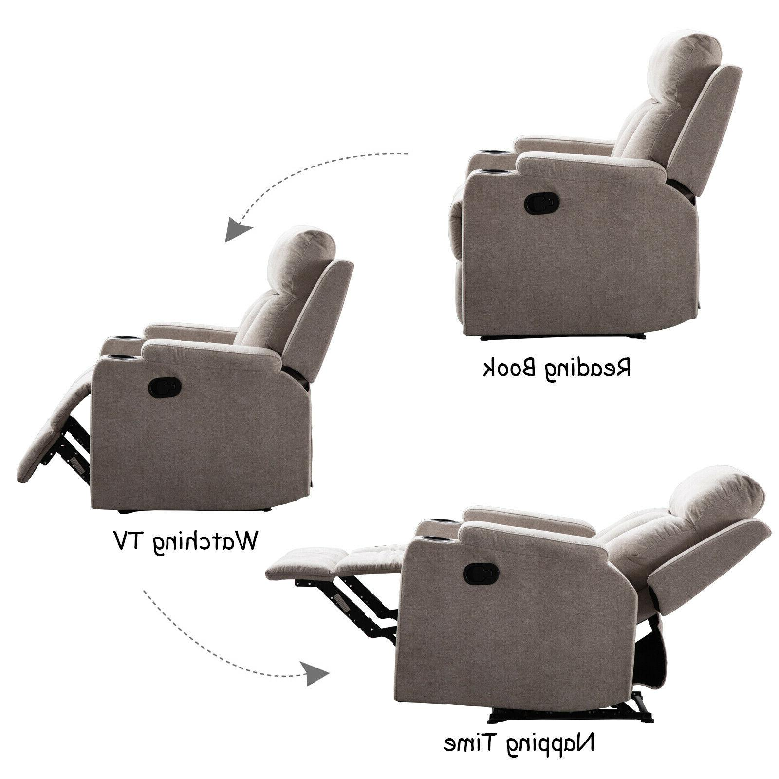 Modern Recliner Sofa Living Room Theater Seating
