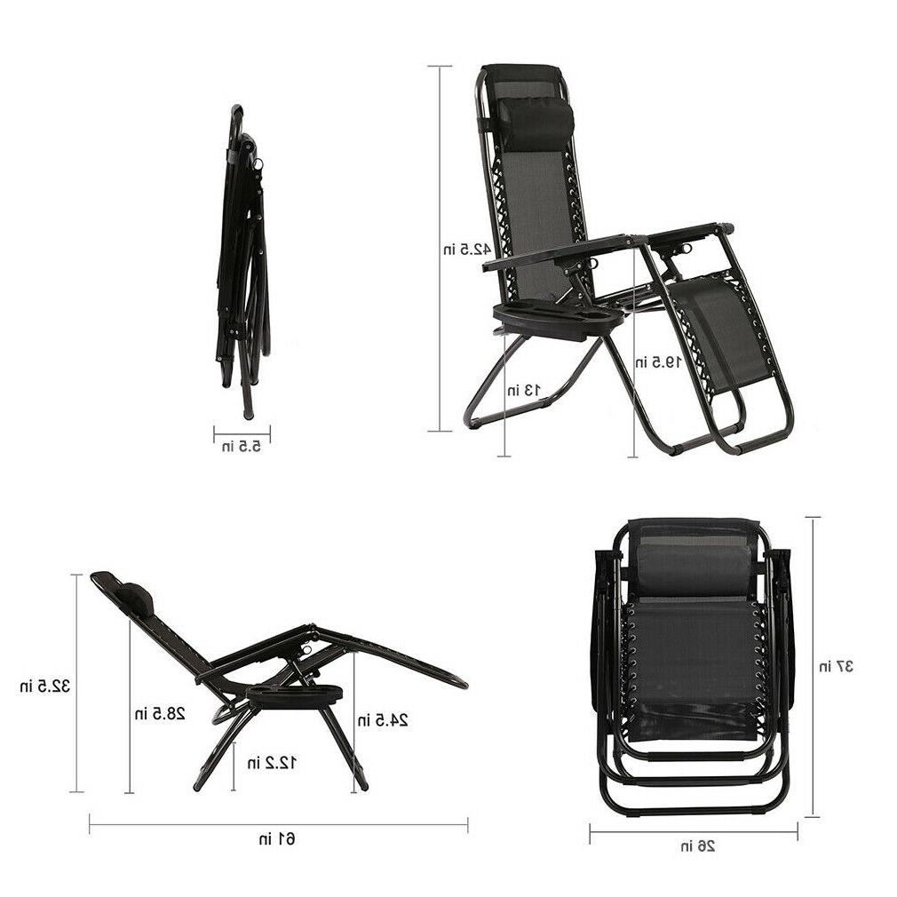 New Chairs Gravity Recliners Folding