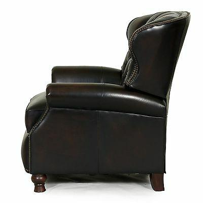 NEW Stetson Coffee Leather Recliner Chair