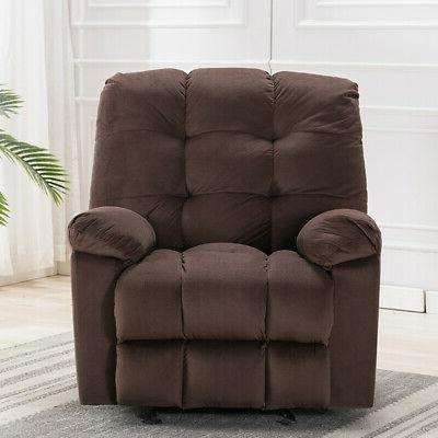 Oversize Glider Chair Padded