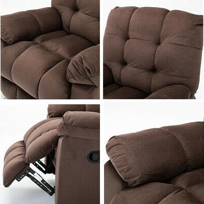 Oversize Chair Overstuffed Sofa Padded Wide