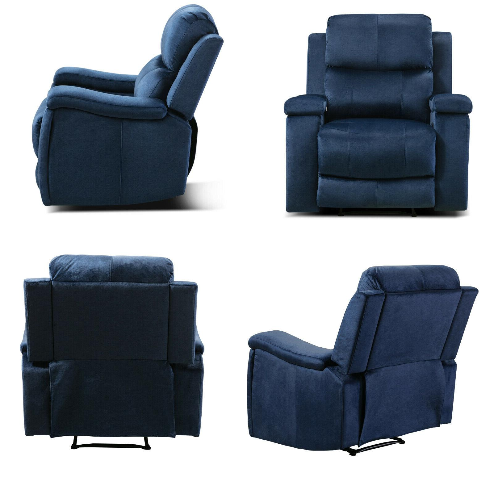 Oversized Recliner with Pullable Cup Theater