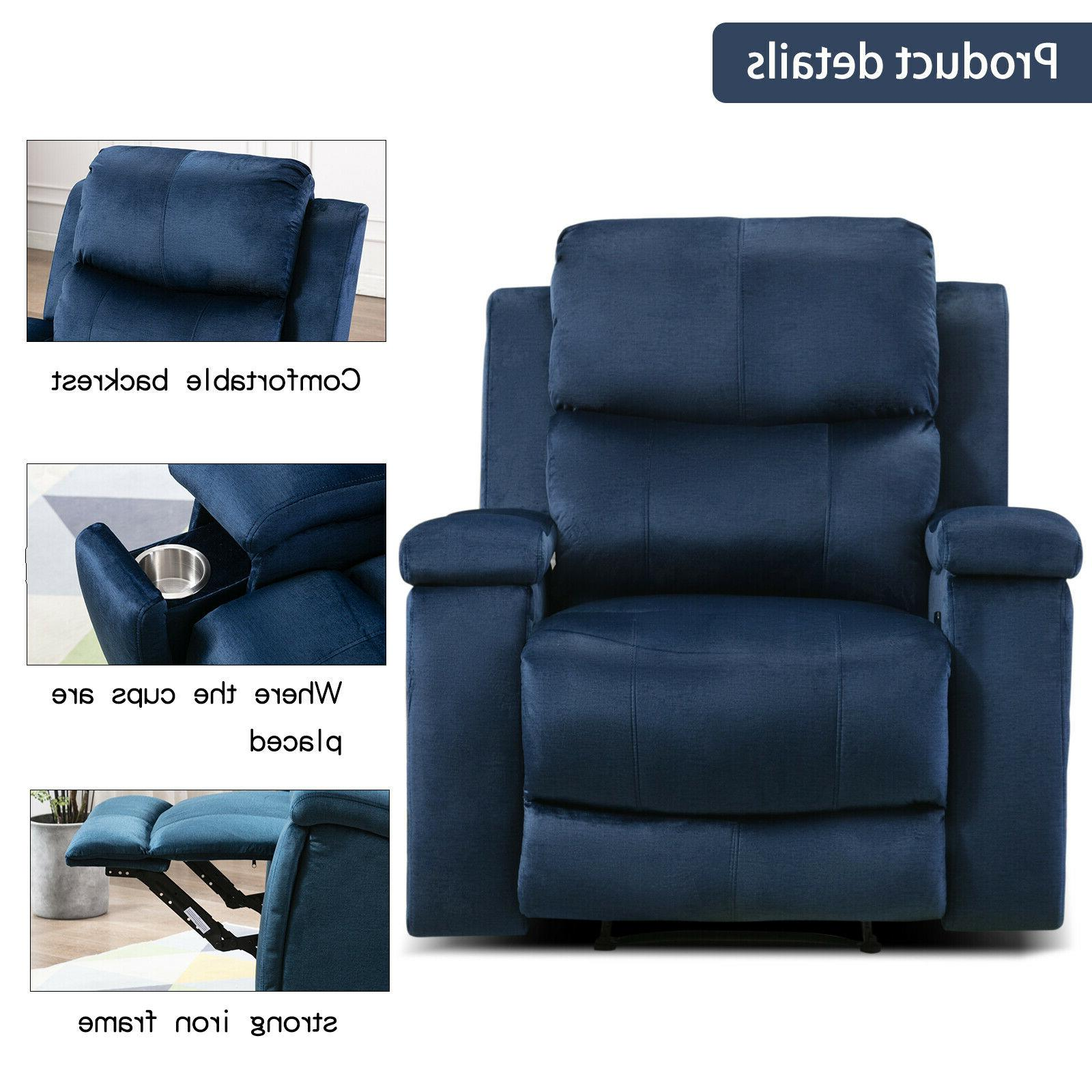 Oversized Recliner with Pullable Home