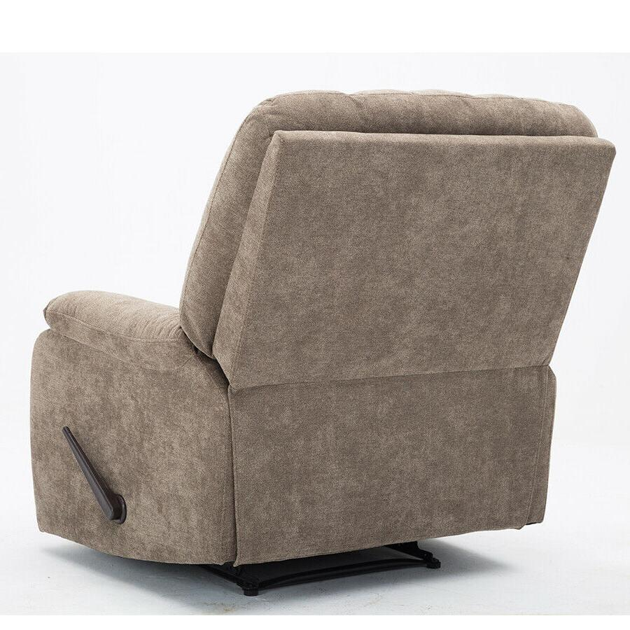 Oversized Wall Microfiber Recliner