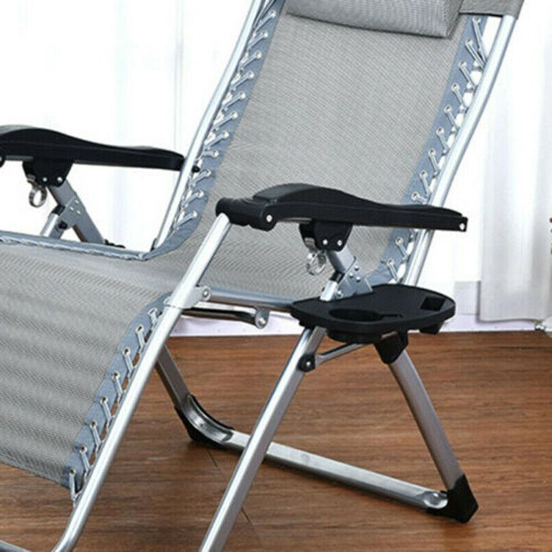 Chairs Outdoor Camping Recliner Tray Tools Portable Gravity