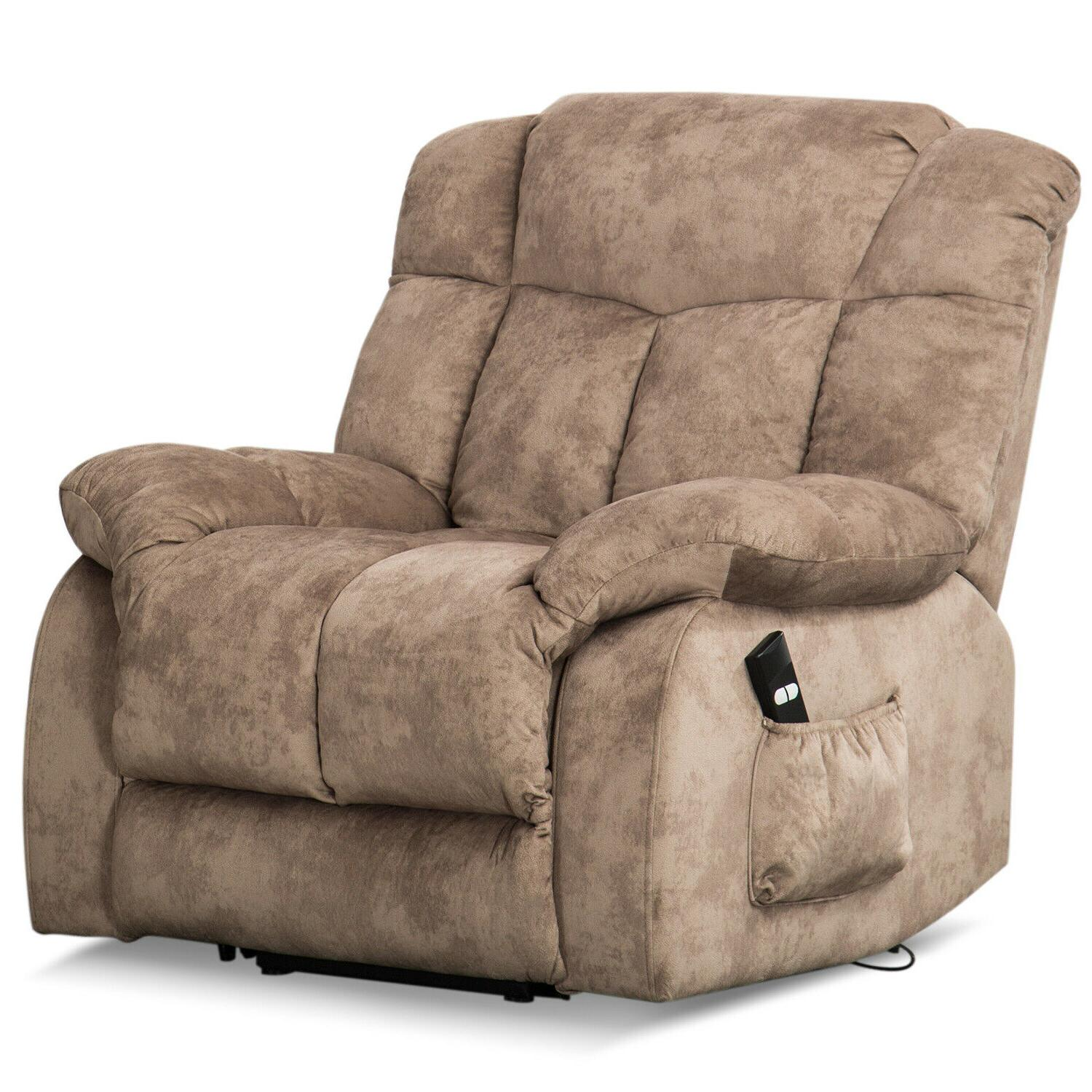 Power Chair Overstuffed Seat Lounge RC