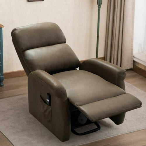 Electric Chair Elderly Padded w/RC Armchair