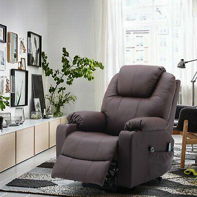 PU Leather Electric Lift Armchair