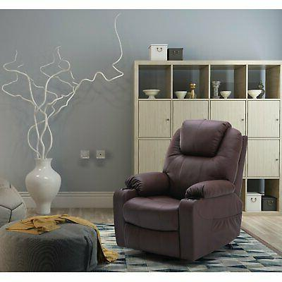 PU Electric Power Lift Armchair Remote