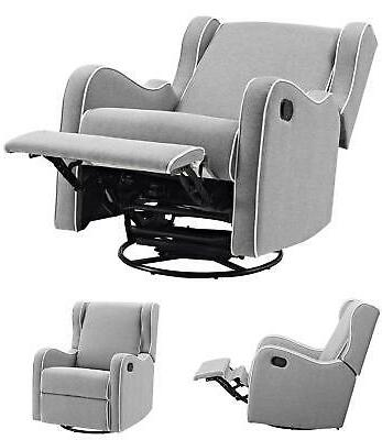 rocking chair swivel gliding recliner baby seat