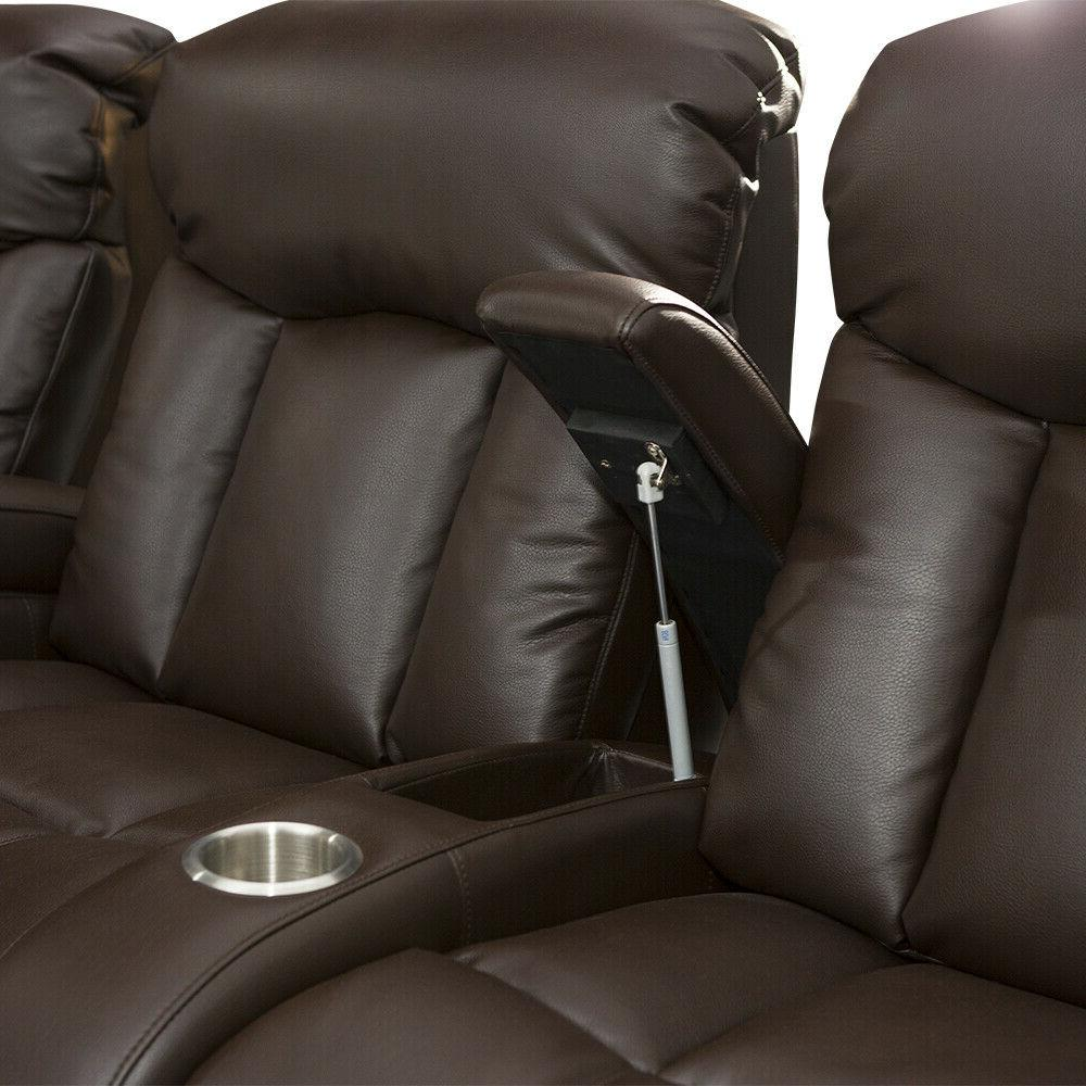 Seatcraft Seat Leather Row Recline