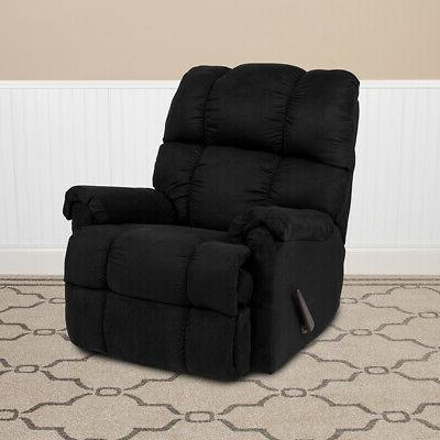 Flash Furniture Sierra Microfiber Rocker