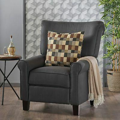 thalia traditional fabric recliner by christopher knight
