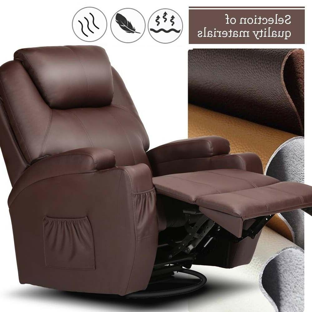 Electric Massage Chair Recliner Heated w/ RC