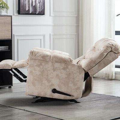 Wide Recliner Chair Heavy Room Padded