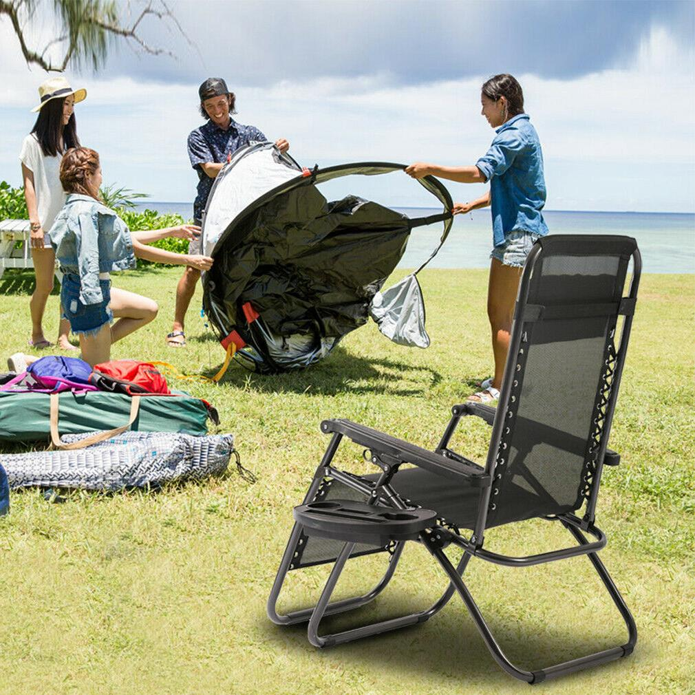 New Patio Gravity Chaise Recliners
