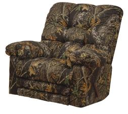 Catnapper Magnum Camo Chaise Rocker Recliner w/Heat & Massag