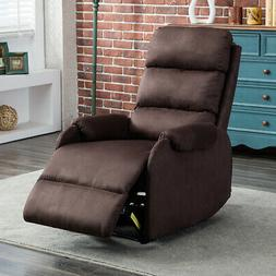 Electric Power Recliner Chair High Back Free Angle USB Charg