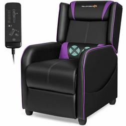 massage gaming recliner chair single living room