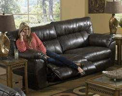 Catnapper - Nolan Extra Wide Reclining Sofa in Godiva - 4041