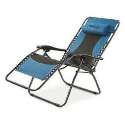 Oversized Zero-Gravity Chair Heavy Duty Camping Lounger Recl