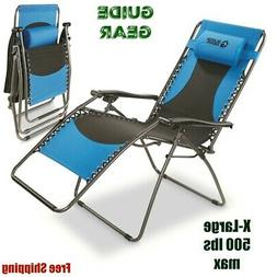 Guide Gear Oversized Zero Gravity Chair X-Large 500 lb Outdo