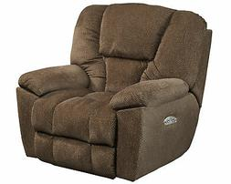 Catnapper Owens Power Headrest Power Lay Flat Recliner in Hi