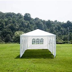 Uenjoy 10'x30' Party Tent Canopy Wedding Tent Event Tent Out
