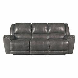 Signature Design by Ashley Persiphone Leather Reclining Sofa