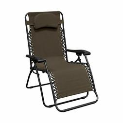 Portable Folding Chair Recliner For Outdoor Poolside Deck Tr