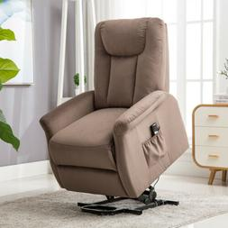 Power Lift Assist Recliner Chair for Elderly Chocolate Sofa